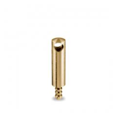 Messing matt Design MiniRail Mittelstütze 11616 für Stab 6mm