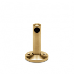 Messing matt Design MiniRail Endstütze 11506 für Stab 6mm