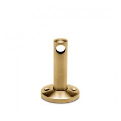 Messing matt Design MiniRail Mittelstütze 11516 für Stab 6mm