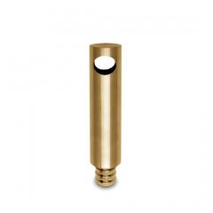 Messing matt Design MiniRail Mittelstütze 11611 für Stab 10mm