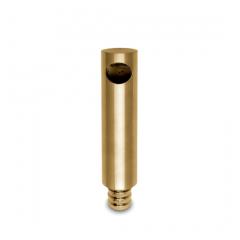 Messing matt Design MiniRail Endstütze 11601 für Stab 10mm
