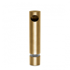 Messing matt Design MiniRail Endstütze 11801 für Stab 10mm