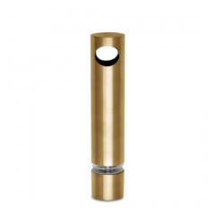 Messing matt Design MiniRail Mittelstütze 11811 für Stab 10mm