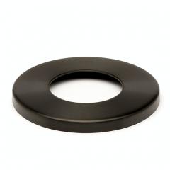 Anthrazit Design Rohr 25,4 mm Abdeckkappe Flansch