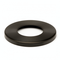 Anthrazit Design Rohr 38,1 mm Abdeckkappe Flansch