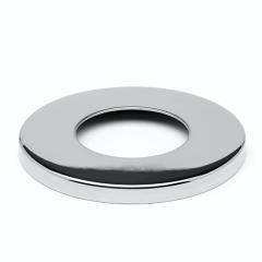 Chrom Design Rohr 25,4 mm Abdeckkappe Flansch