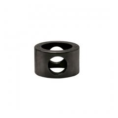 Anthrazit Design MiniRail Adapter Mittelstück für Stab 10mm