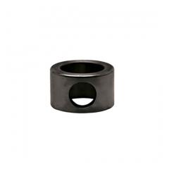 Anthrazit Design MiniRail Adapter Endstück für Stab 10mm