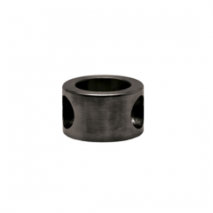 Anthrazit Design MiniRail Adapter 45 Grad für Stab 10mm